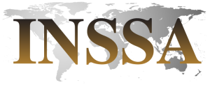 INSSA Logo, Letters, Map (PNG, 733 x 298)